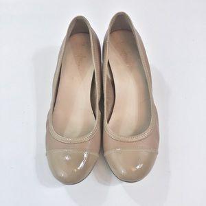 Cole Haan Nude Ballet Wedges Size 8